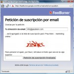 suscripcion por email blog marketing