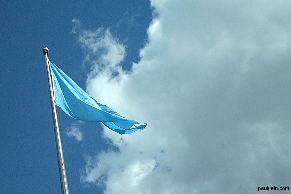 Bandera Naciones Unidas, Nueva York