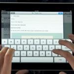 iPad teclado tactil