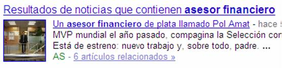 google resultados busquedas noticias
