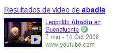 google resultados videos youtube