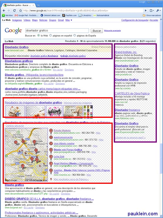 universal-search-de-google captura pantalla