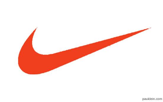 simbolo o grafismo parte de la marca o logo de nike