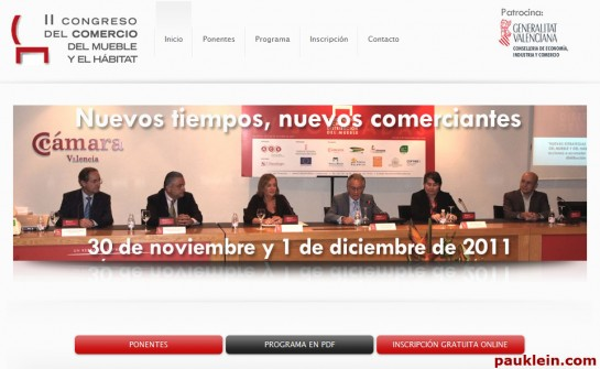 congreso de comercios del mueble y el habitat cecomu aconval VALENCIA
