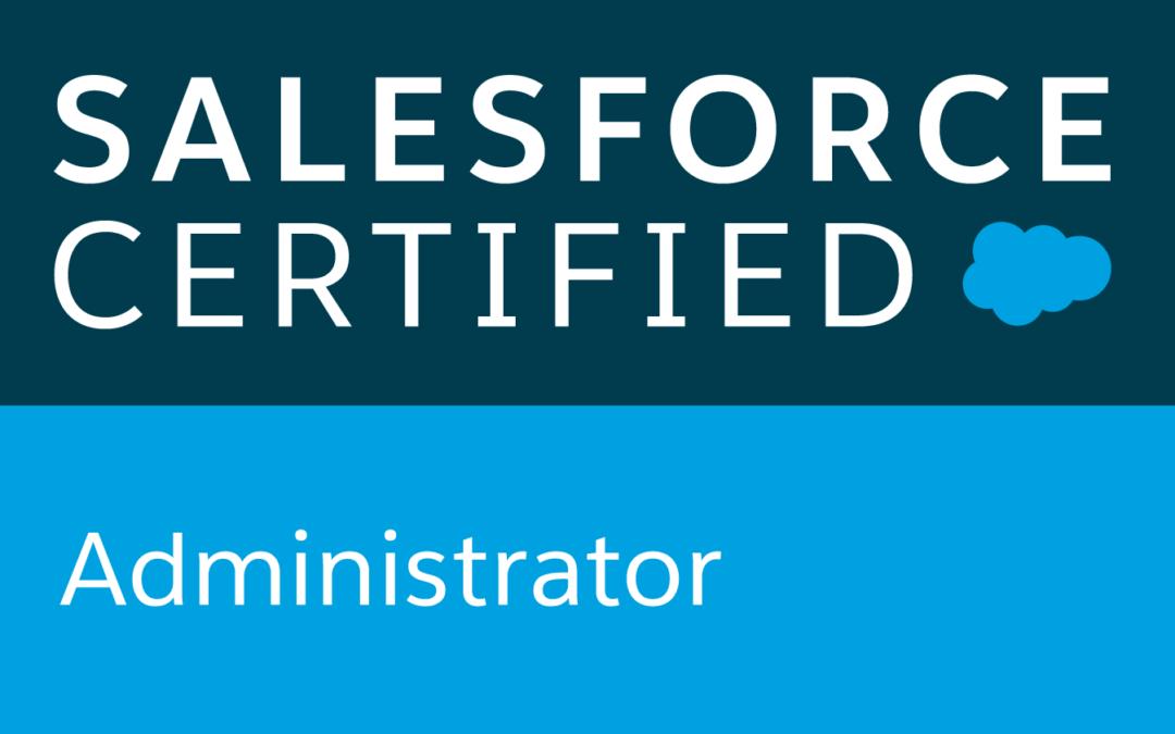 salesforce administrator certified pau klein